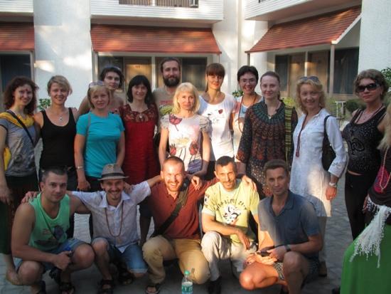 Группа в Индии