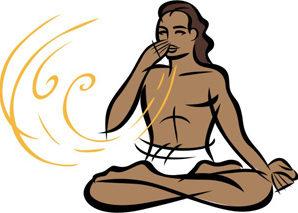 Дыхание во время практики асан хатха йоги